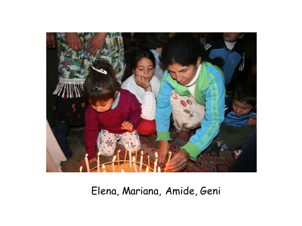 Elena, Mariana, Amide, Geni