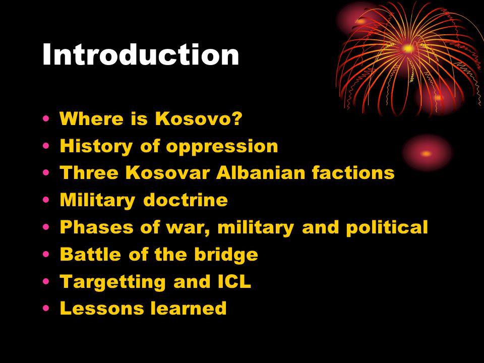 Where is Kosovo?