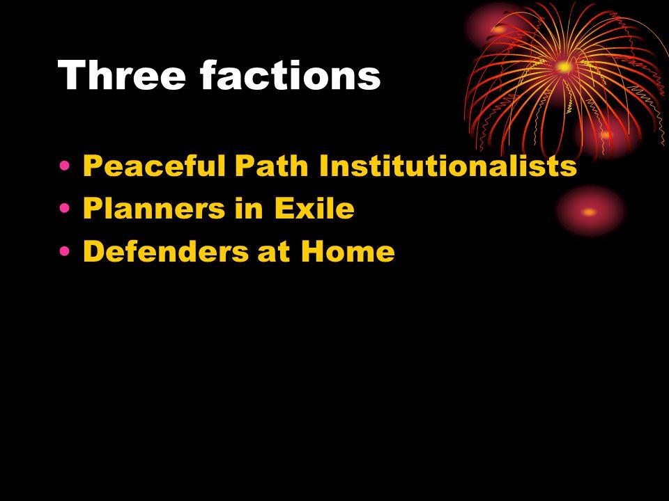 Peaceful Path Institutionalists President Ibrihim RugovaPrime Minister Bujar Bukoshi