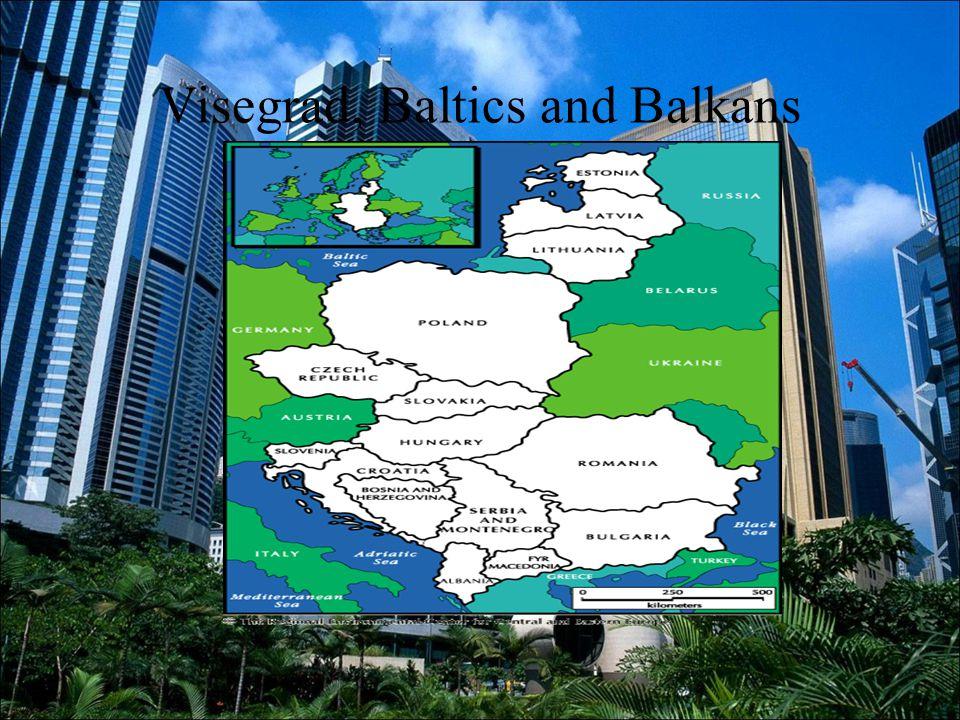 Visegrad, Baltics and Balkans