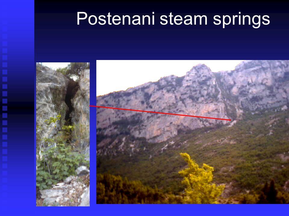 Postenani steam springs