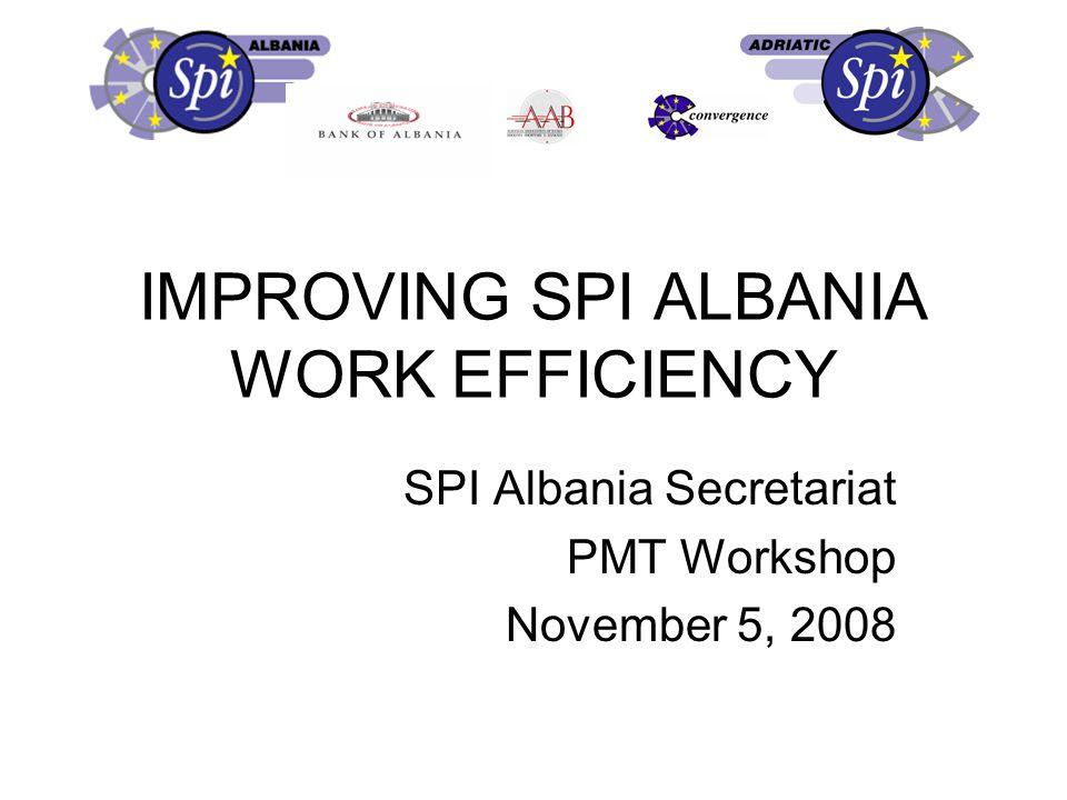 III. SPI Albania Methodology – EU Better Regulation in 11 steps