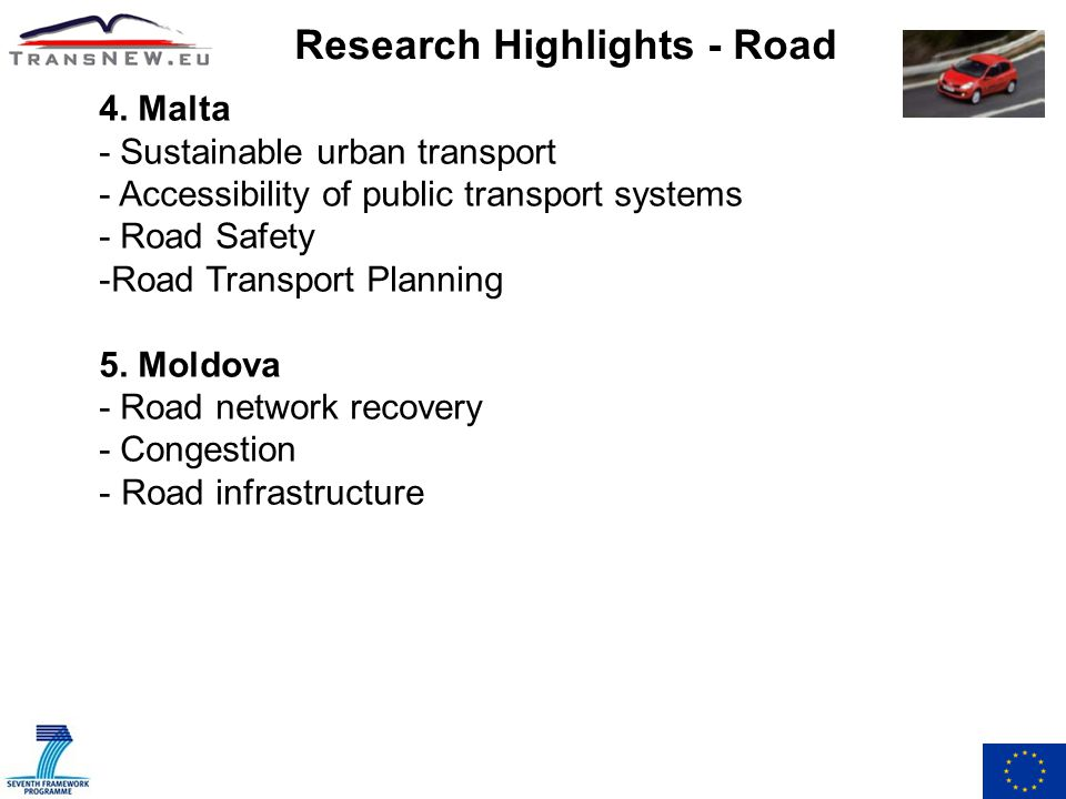 Research Highlights - Road 4.