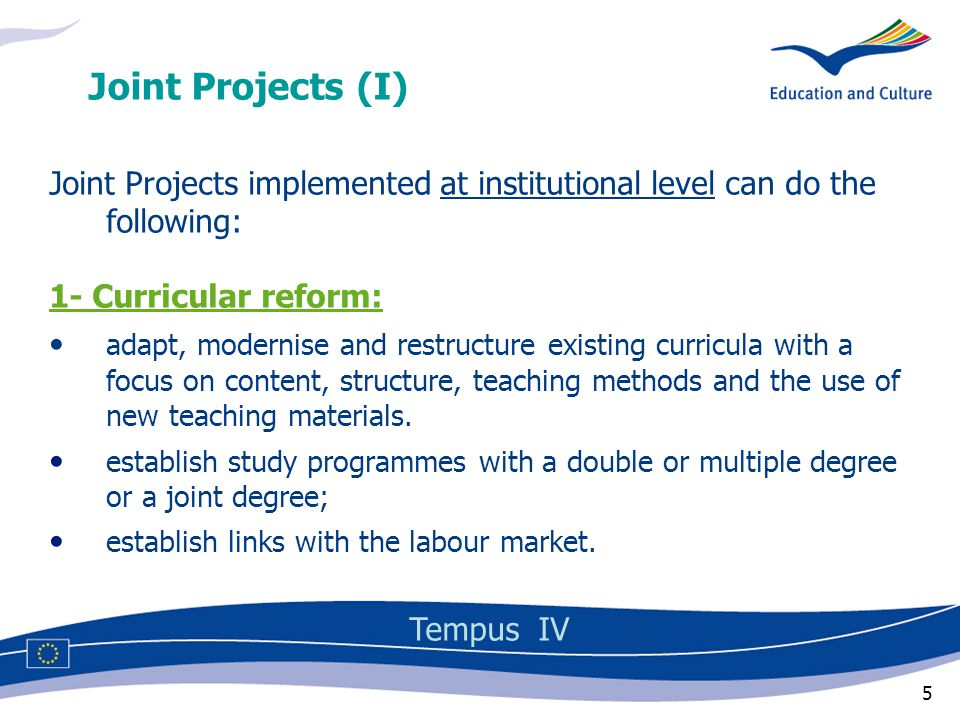 26 Applicants Tempus IV must prove their operational capacity: CVs of project team and list of projects already undertaken in the relevant field must prove their financial capacity: profit and loss accounts of the last three years (public bodies are excepted from this proof)