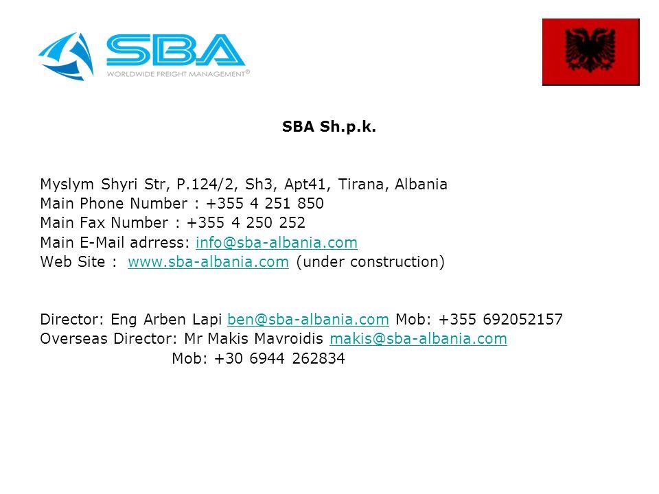 SBA Sh.p.k.