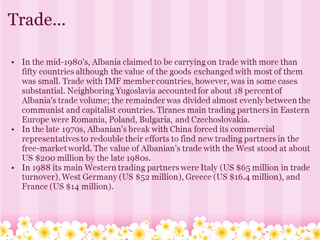 Trade...