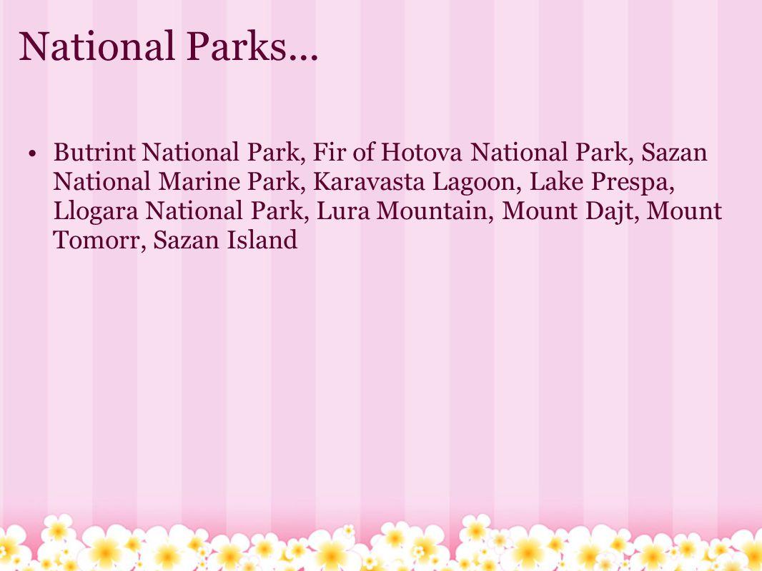 National Parks...