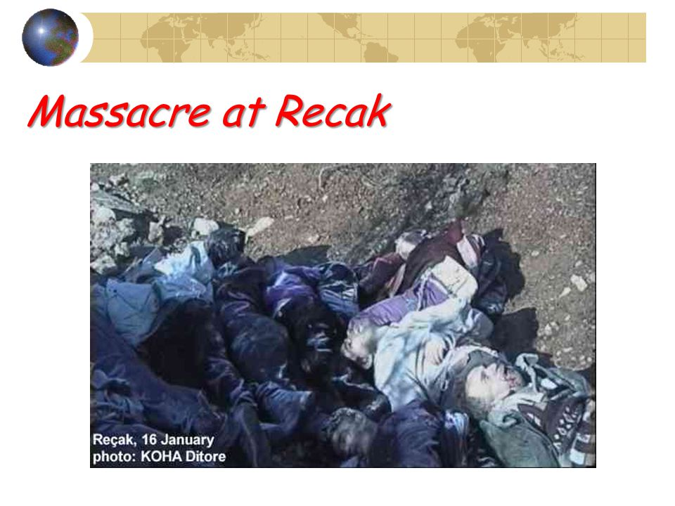 Massacre at Recak