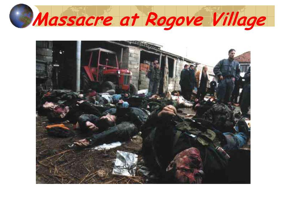 Massacre at Rogove Village