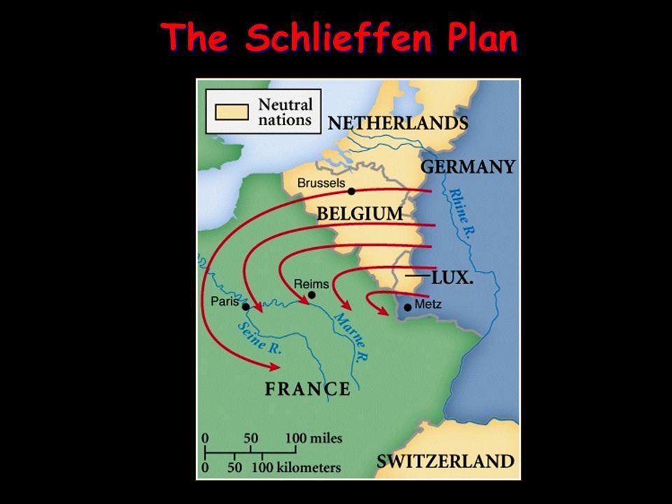 The Schlieffen Plan The Schlieffen Plan