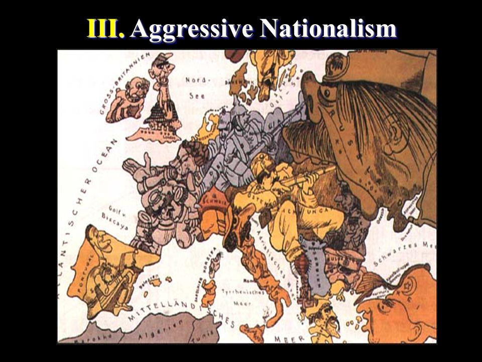 III. Aggressive Nationalism III. Aggressive Nationalism