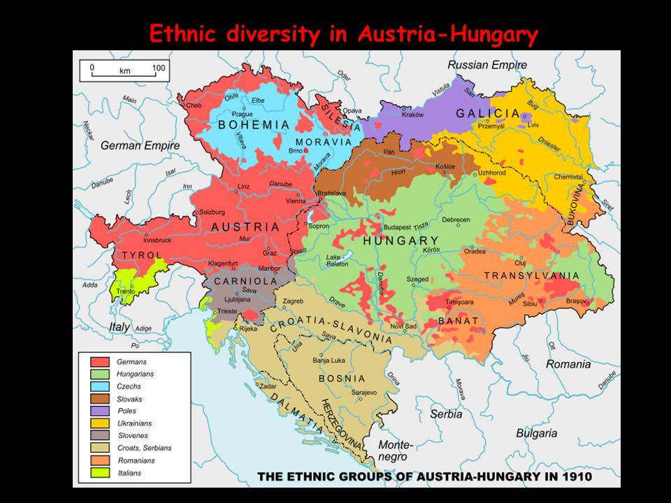 Ethnic diversity in Austria-Hungary