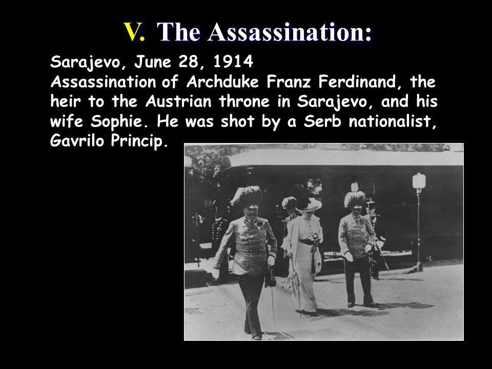 V. The Assassination: V.
