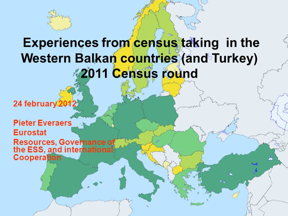 Structure of the presentation  Why is the census so important for these countries … and why is it so challenging to have a good census realised.