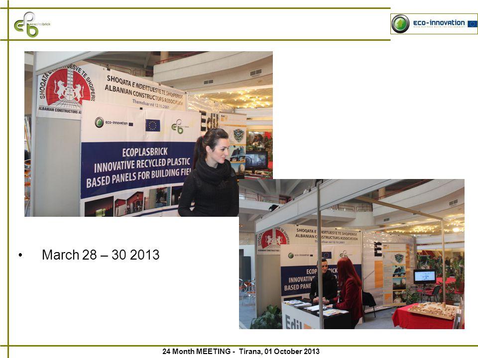 24 Month MEETING - Tirana, 01 October 2013
