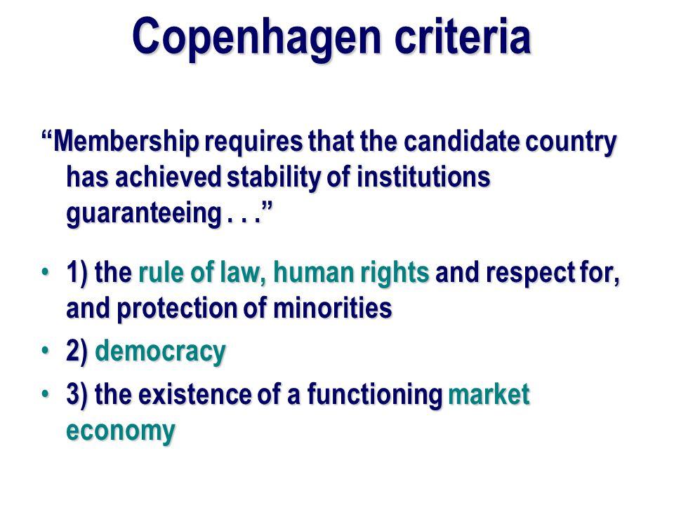 Why do CEEC countries want EU membership.