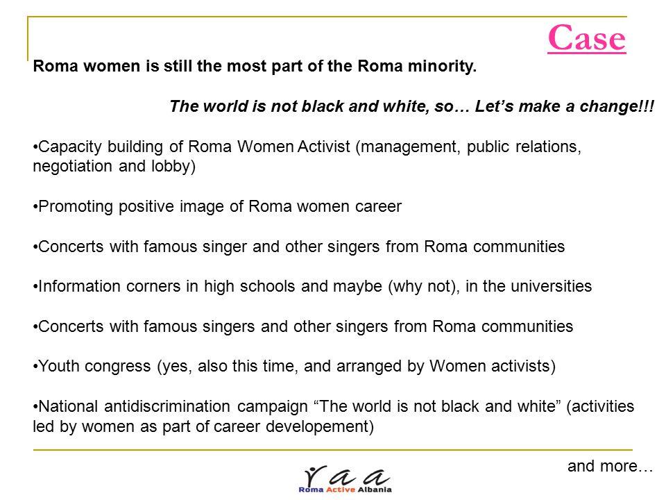 Thank you! Roma Active Albania