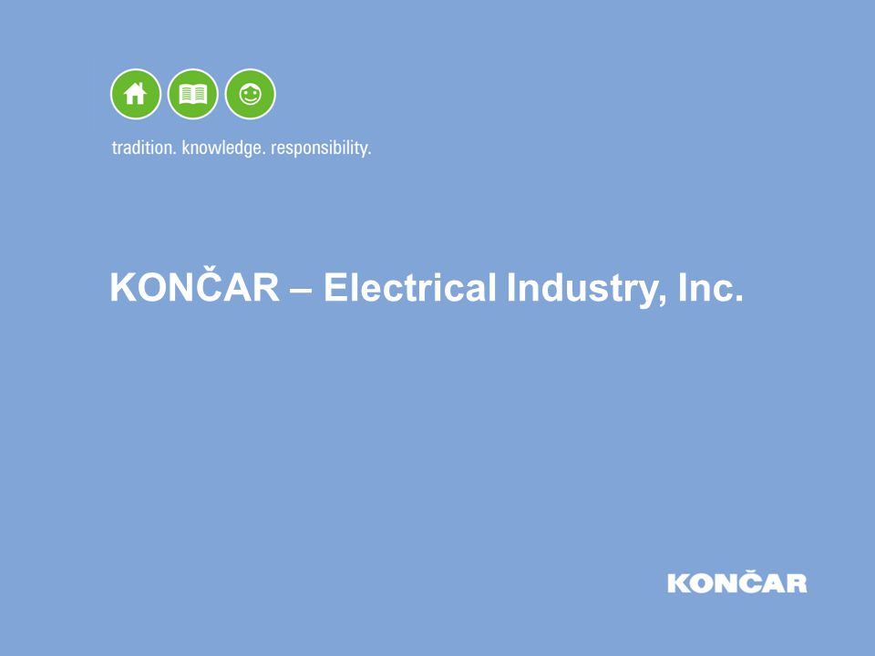 KONČAR – Electrical Industry, Inc.