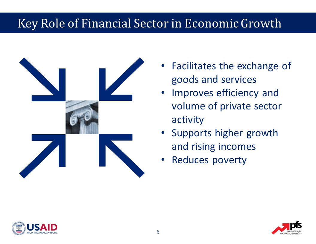39 E&E Financial Sectors are Small and Underdeveloped Capital markets do not support business growth