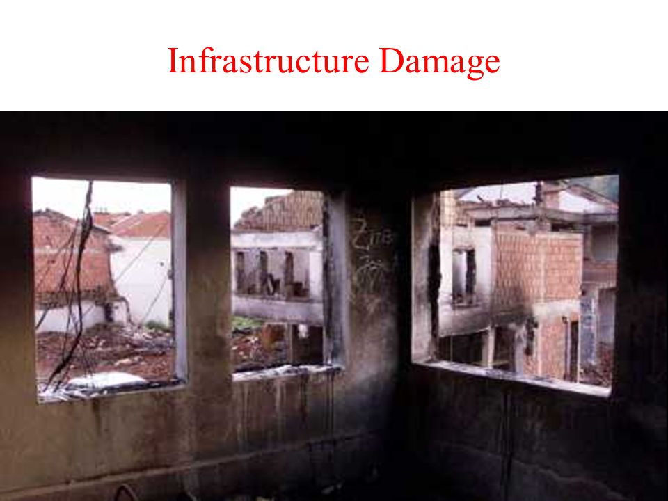 Infrastructure Damage