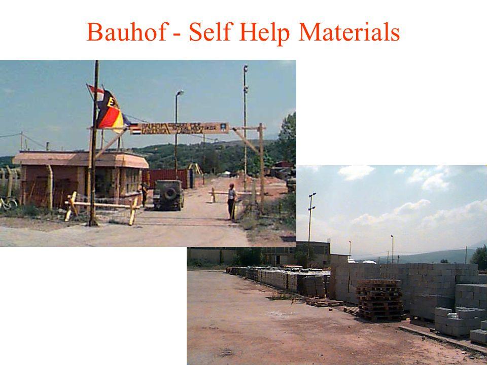 Bauhof - Self Help Materials