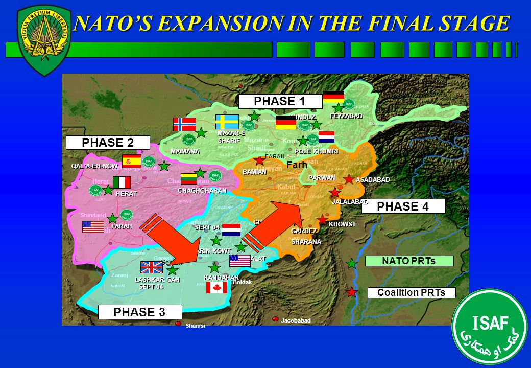 AFGHANISTAN INTERNATIONAL SECURITY ASSISTANCE FORCE ASSISTANCE FORCE