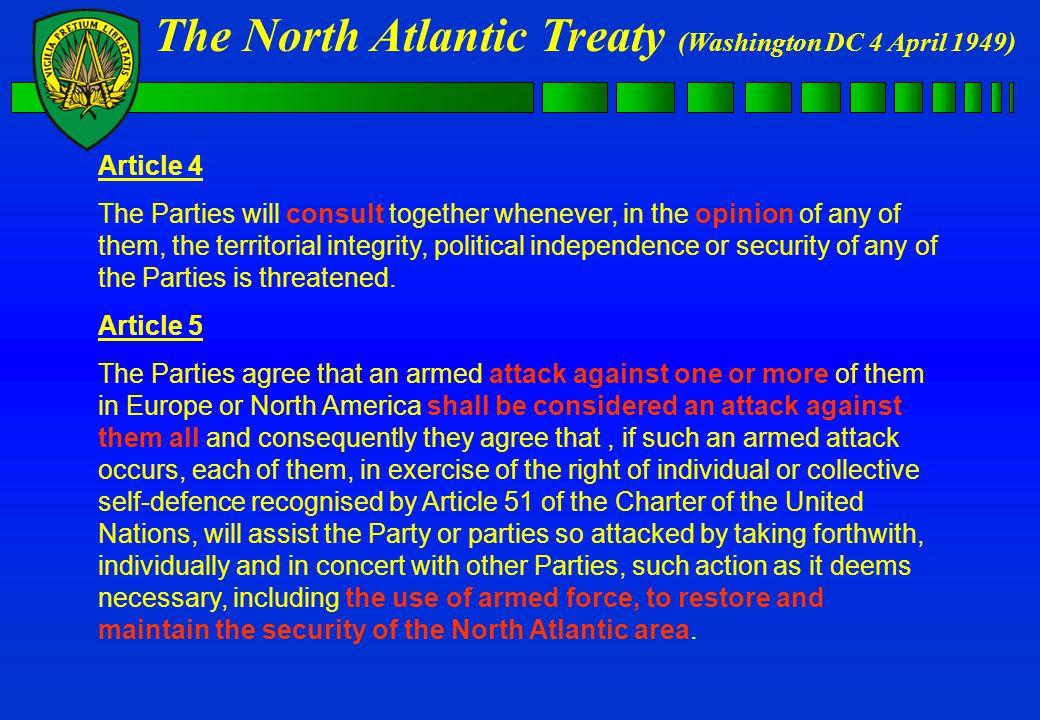 NATO OPERATIONS