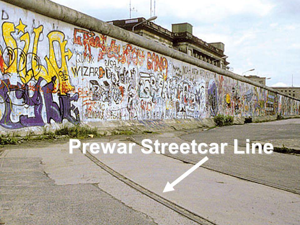 Prewar Streetcar Line