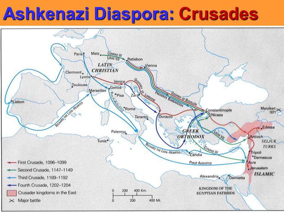 Ashkenazi Diaspora: Crusades