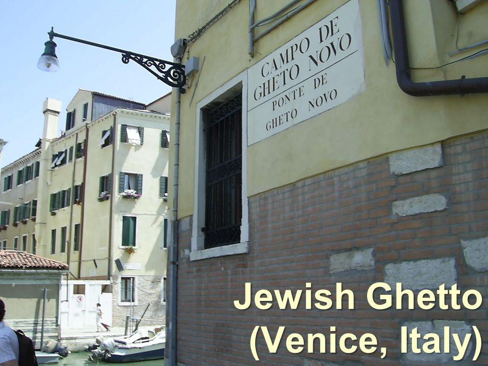 Jewish Ghetto (Venice, Italy)