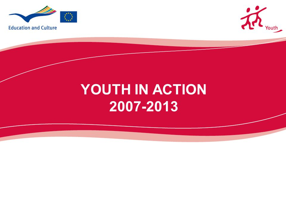 2  Instrument for the implentation of the White Paper on Youth and the European Cooperation in the field of youth  New Actions and sub-Actions  Enlarged geographical scope  Enlarged age access (13 to 30 years)  Strong focus on the visibility of the Programme and on the dissemination and exploitation of the results.
