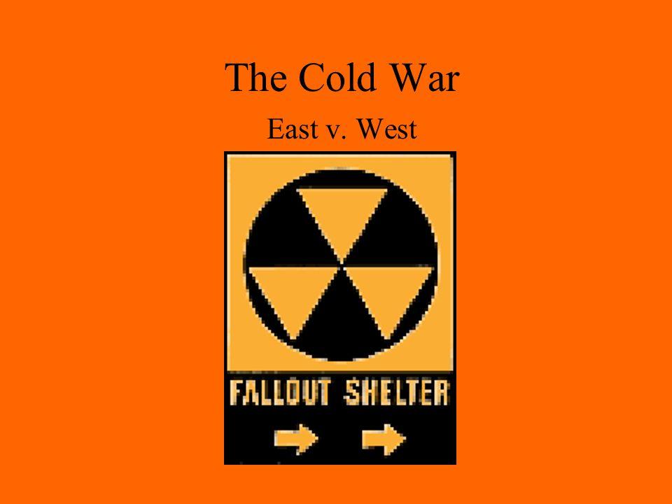 The Cold War East v. West