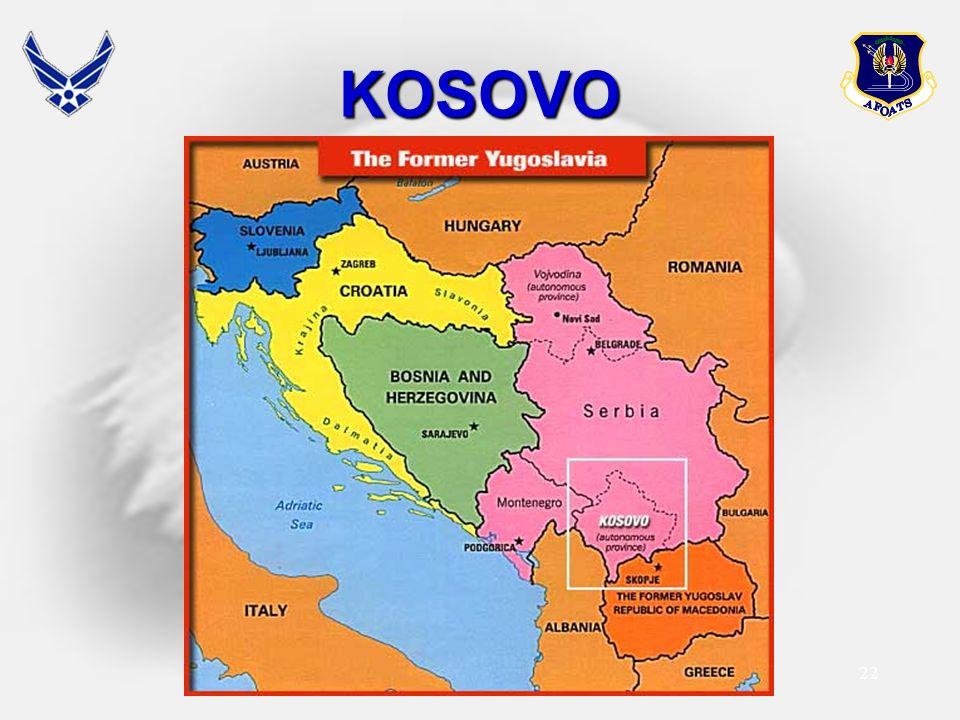 22 KOSOVO