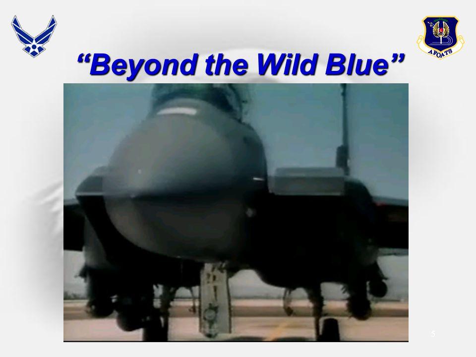 5 Beyond the Wild Blue