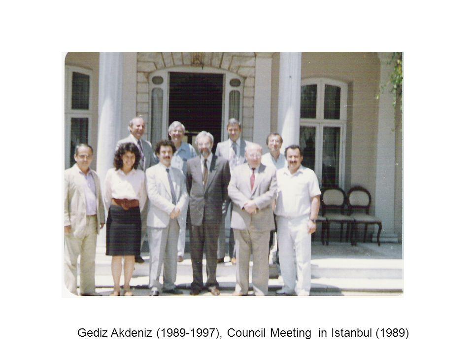 Gediz Akdeniz (1989-1997), Council Meeting in Istanbul (1989)