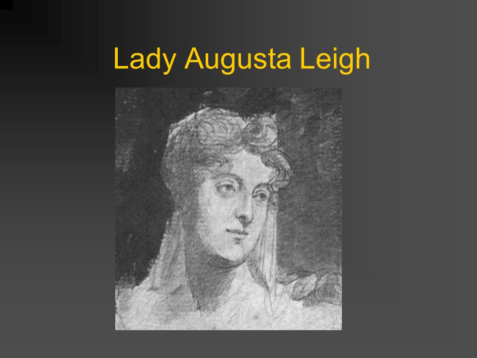 Lady Augusta Leigh