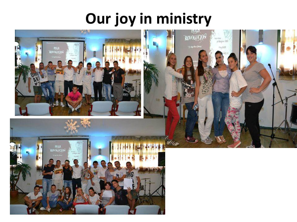 Our joy in ministry Kujtim Henri Agim.