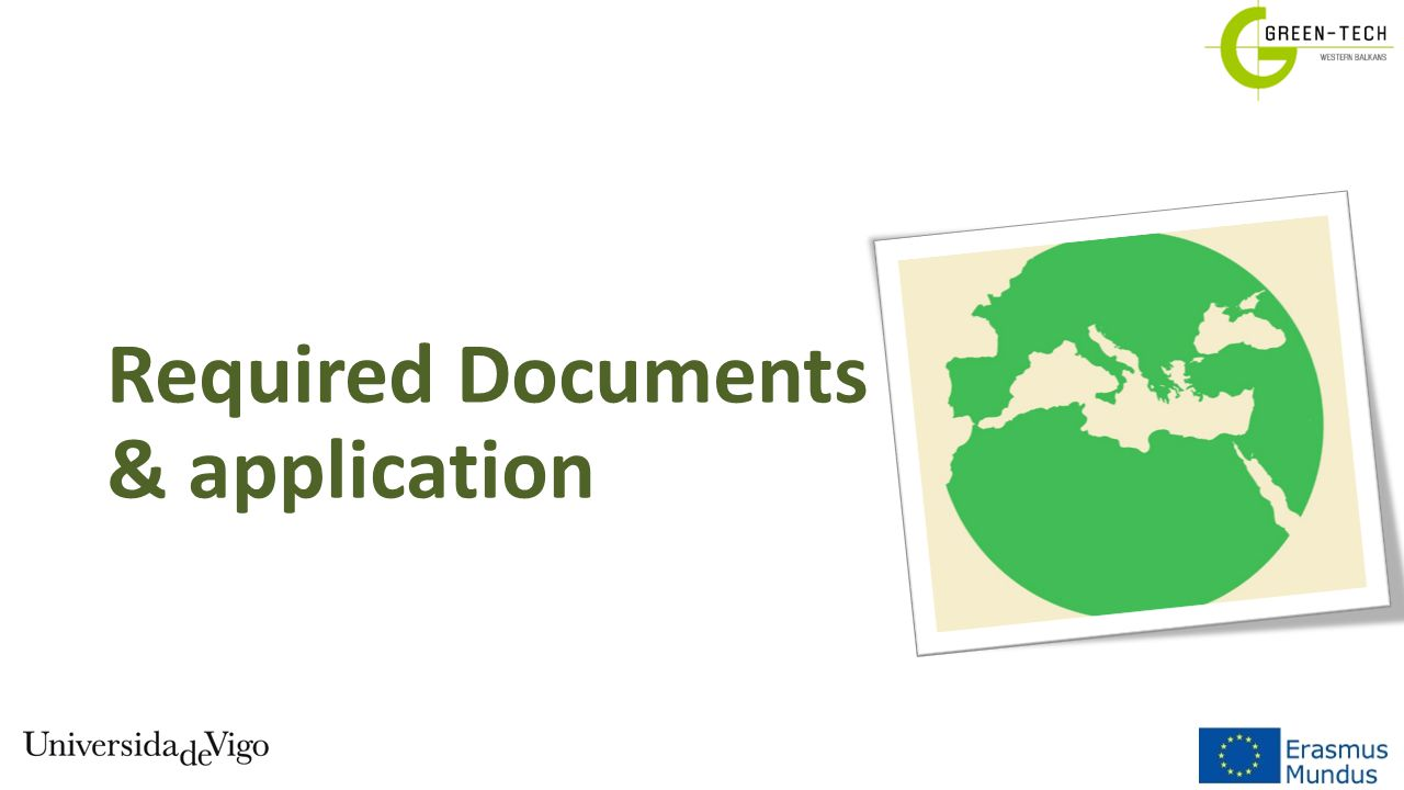 Required Documents & application