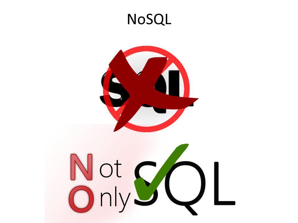 NoSQL vs.