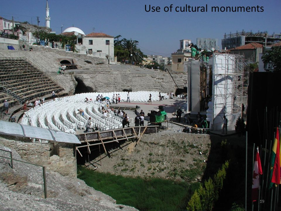 Use of cultural monuments 19