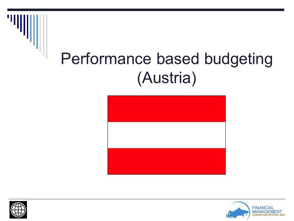 Performance based budgeting (Austria)