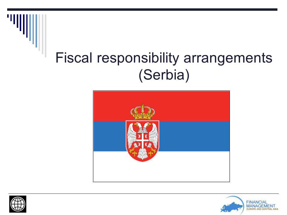 Fiscal responsibility arrangements (Serbia)