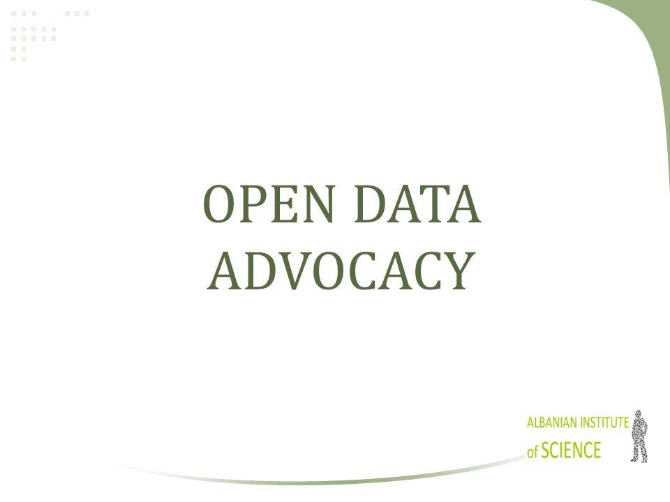 OPEN DATA ADVOCACY