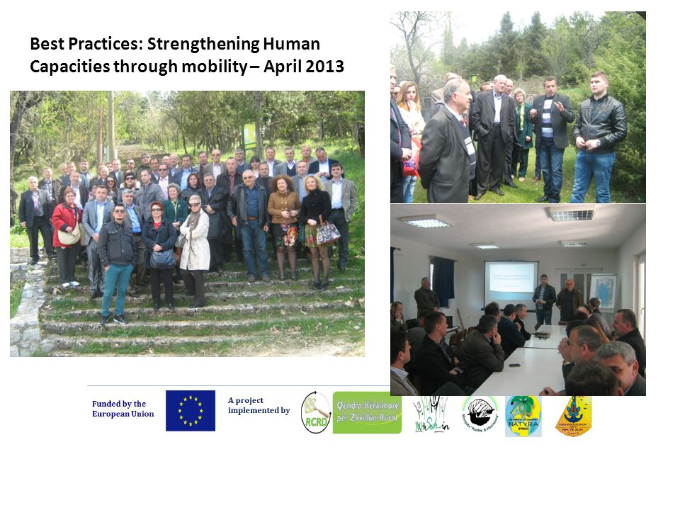 Best Practices: Strengthening Human Capacities through mobility – April 2013