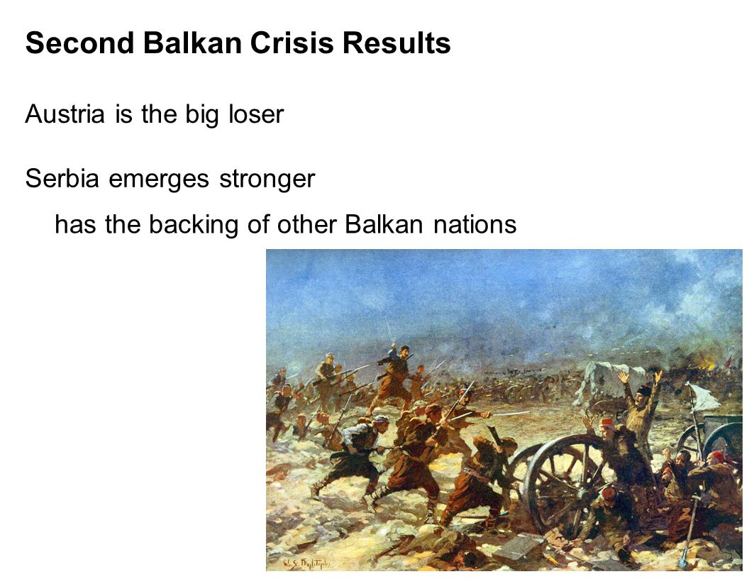 Second Balkan Crisis Results Austria is the big loser Serbia emerges stronger has the backing of other Balkan nations