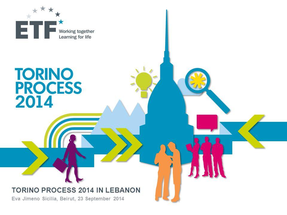 TORINO PROCESS 2014 IN LEBANON Eva Jimeno Sicilia, Beirut, 23 September 2014