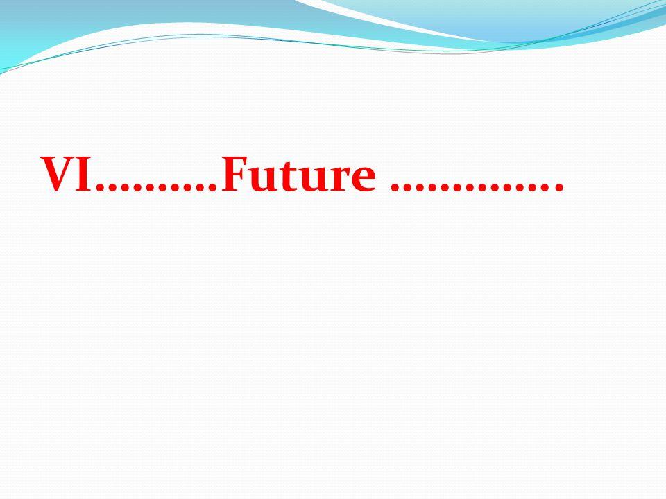 VI……….Future …………..