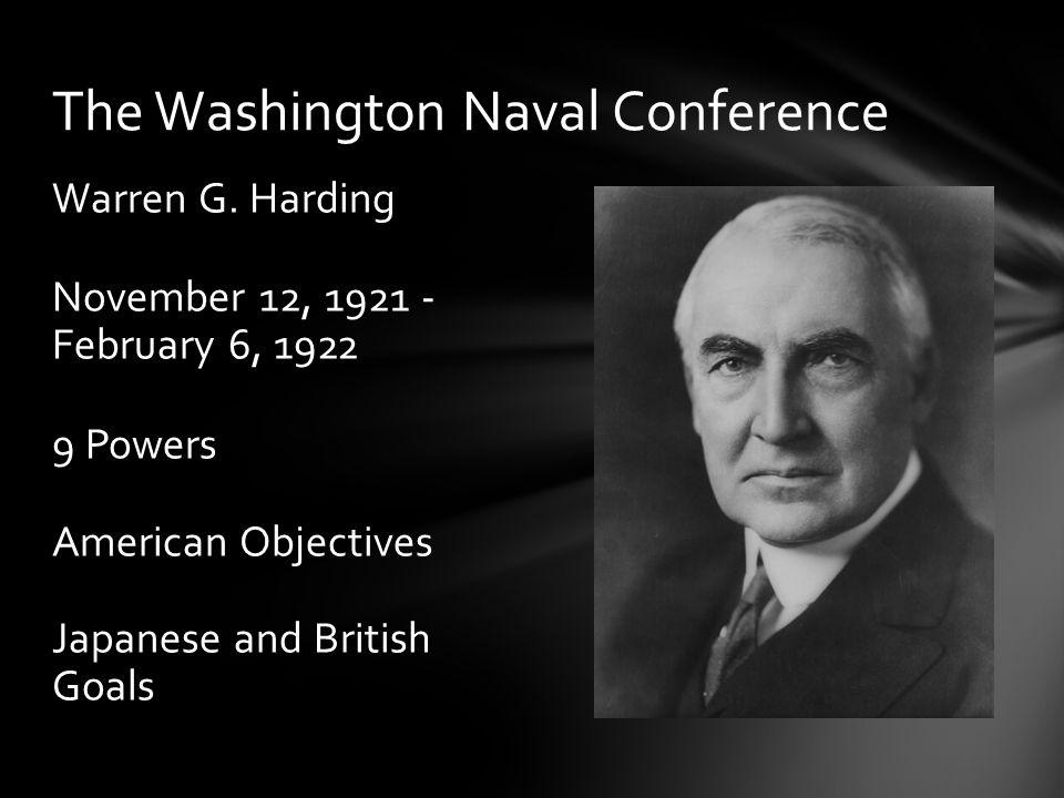 The Washington Naval Treaty/Five Power Treaty Five Powers.