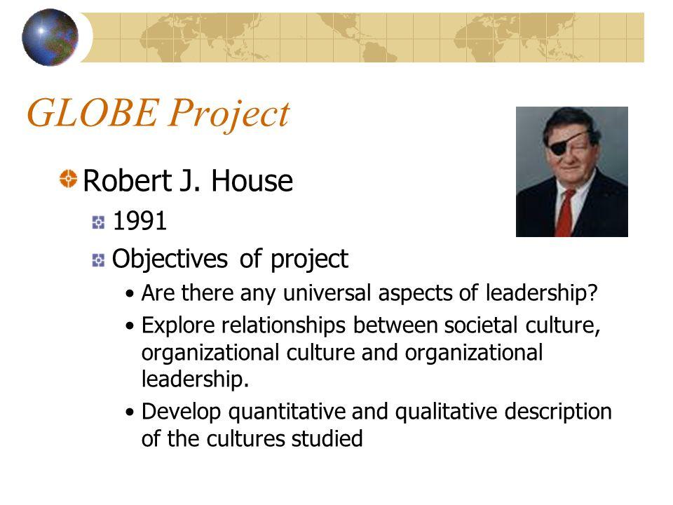 GLOBE Project Robert J.