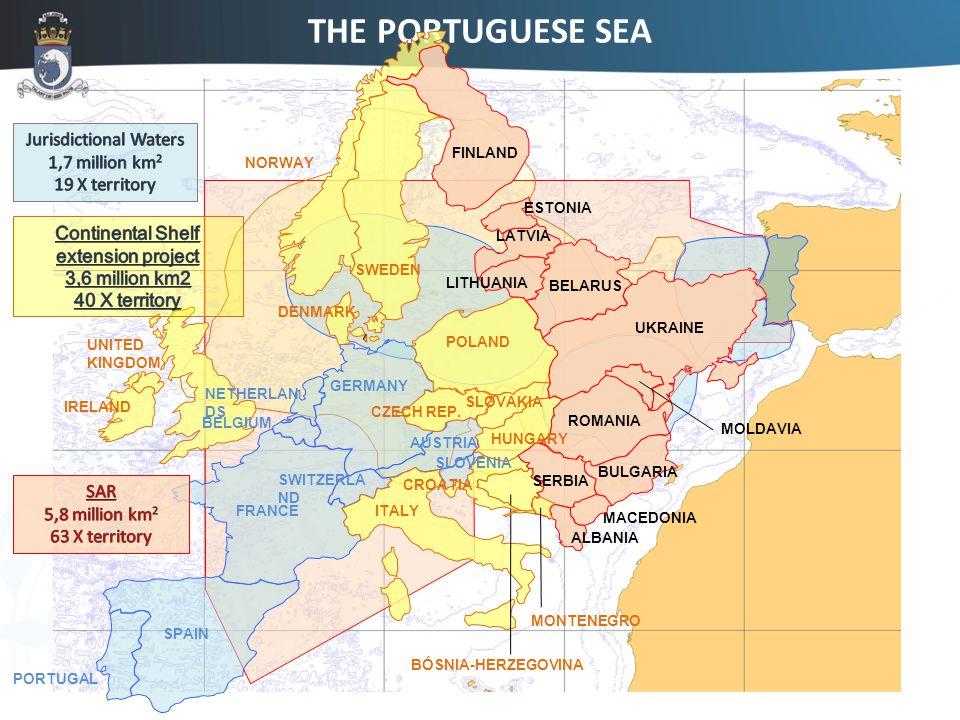 THE PORTUGUESE SEA FINLAND LATVIA UKRAINE LITHUANIA BELARUS ROMANIA MOLDAVIA SERBIA ALBANIA BULGARIA MONTENEGRO MACEDONIA PORTUGAL SPAIN FRANCE GERMANY SWITZERLA ND AUSTRIA BELGIUM NETHERLAN DS SLOVENIA IRELAND POLAND UNITED KINGDOM DENMARK CZECH REP.